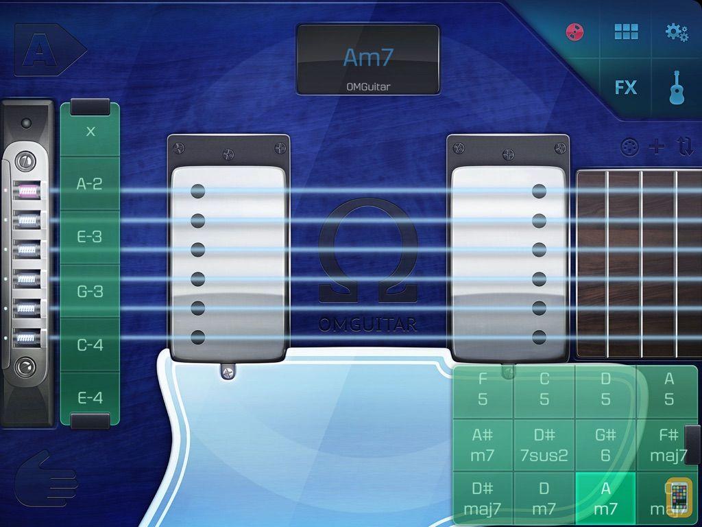 Screenshot - OMGuitar - Digital Guitar with FX and Autoplay