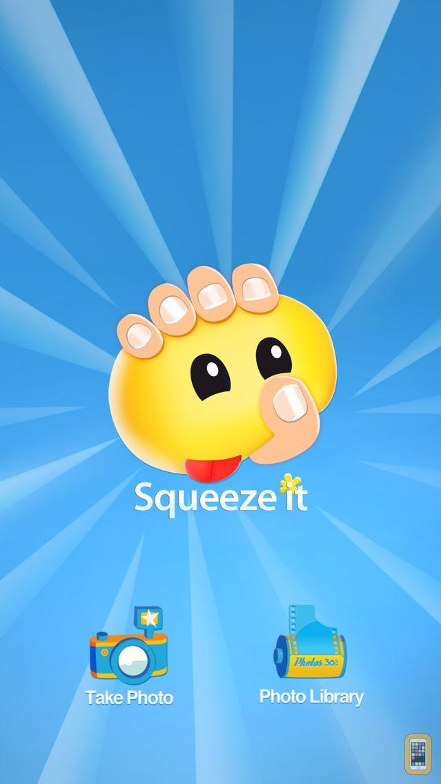 Screenshot - Squeeze it: Face Deformer
