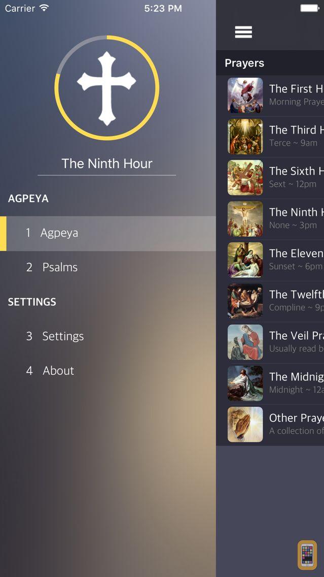 Screenshot - Agpeya (Eng/Arabic)