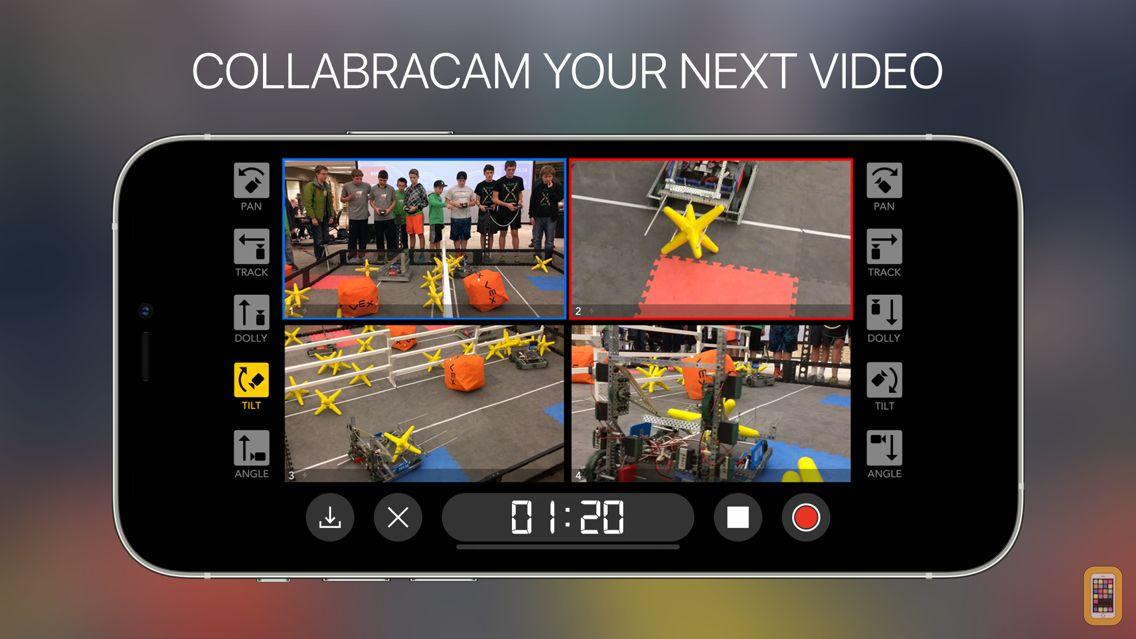 Screenshot - CollabraCam™: Multicam Social Video Production
