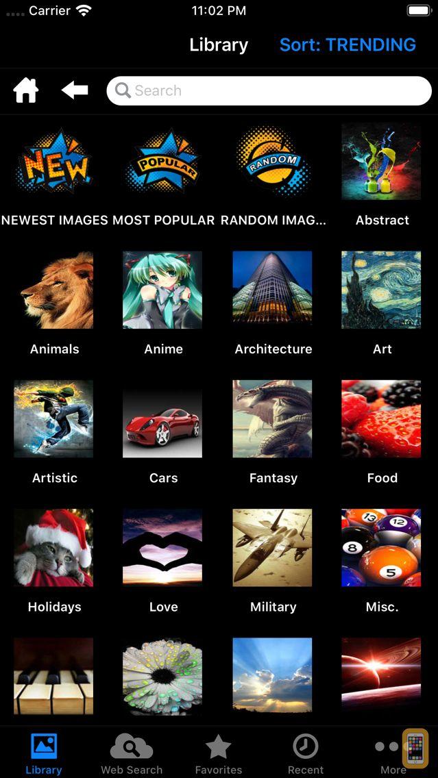 Screenshot - 10,000,000 HD Wallpapers
