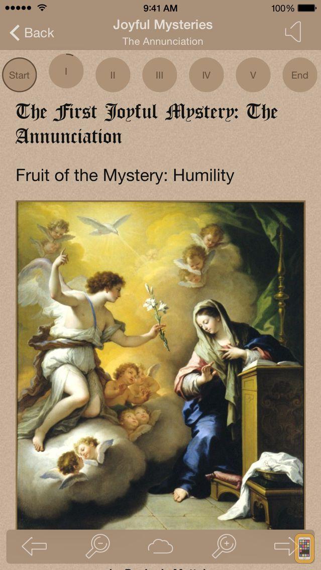 Screenshot - Scriptural Rosary