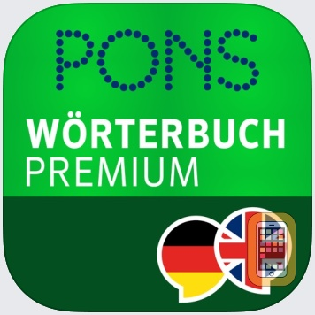 Dictionary German - English PREMIUM by PONS by PONS GmbH (Universal)