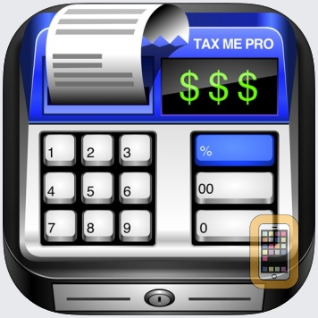 Sales Tax Calculator with Reverse Tax Calculation - Tax Me Pro - Checkout, Invoice and Purchase Log by Tardent Apps Inc. (Universal)