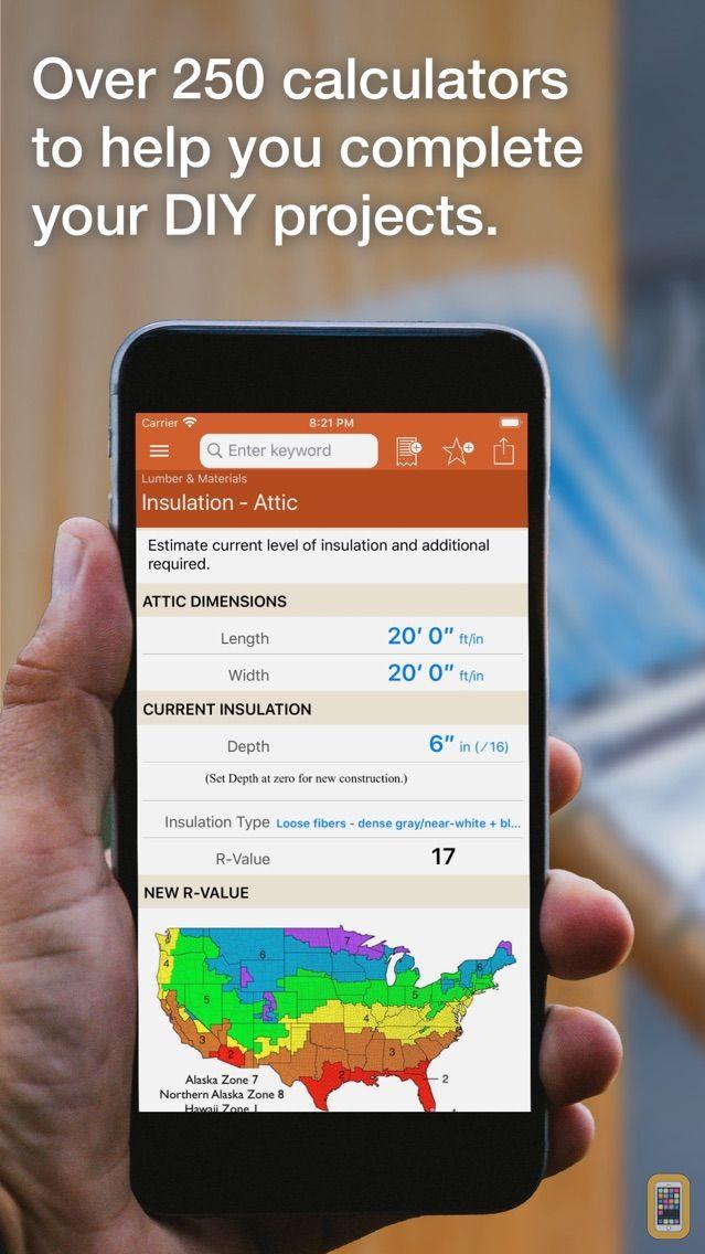 Screenshot - Home Improvement Calcs