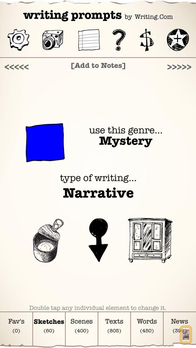 Screenshot - Writing Prompts