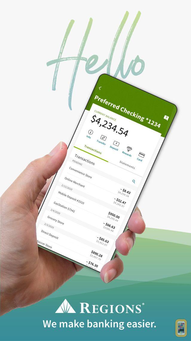 Screenshot - Regions Mobile