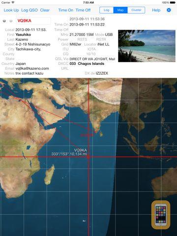 Screenshot - MacLoggerDX HD