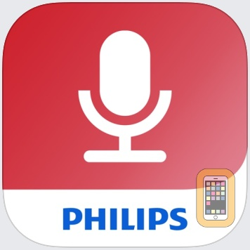 Philips voice recorder by Speech Processing Solutions GmbH (iPhone)