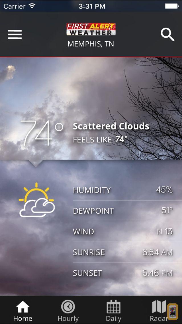 Screenshot - WMC5 First Alert Weather