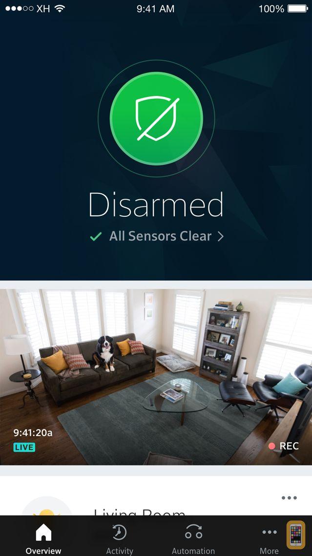 Screenshot - Xfinity Home