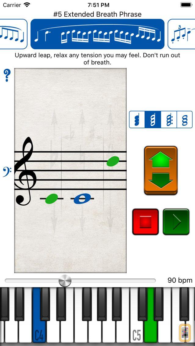 Screenshot - Vocal Exercises