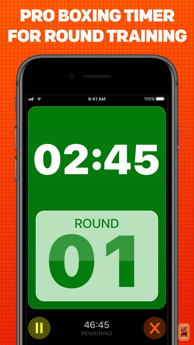 Screenshot - Boxing Timer Pro Round Timer