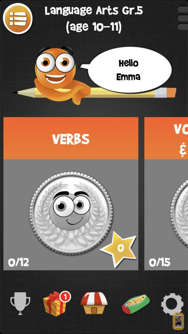 Screenshot - iTooch 5th Grade | Language Arts [FULL]