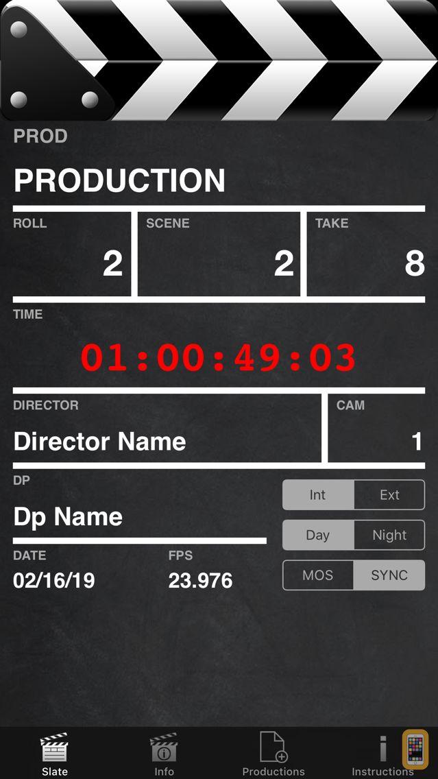 Screenshot - HDSLR Slate