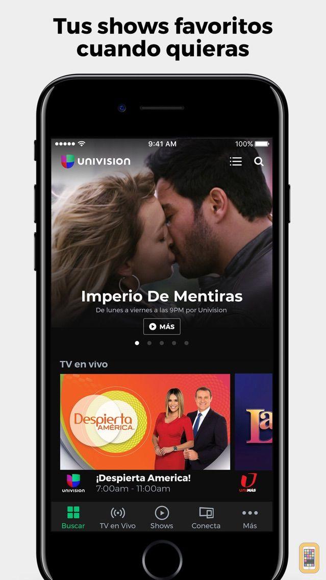 Screenshot - Univision App