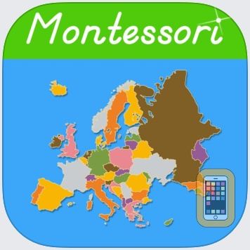 Europe - A Montessori Approach To Geography by Rantek Inc. (iPad)