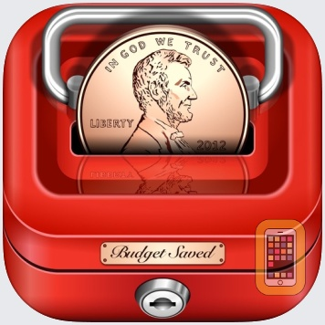 Budget Saved - Personal Finance and Money Management Mobile Bank Account Saving App by Tardent Apps Inc. (iPhone)