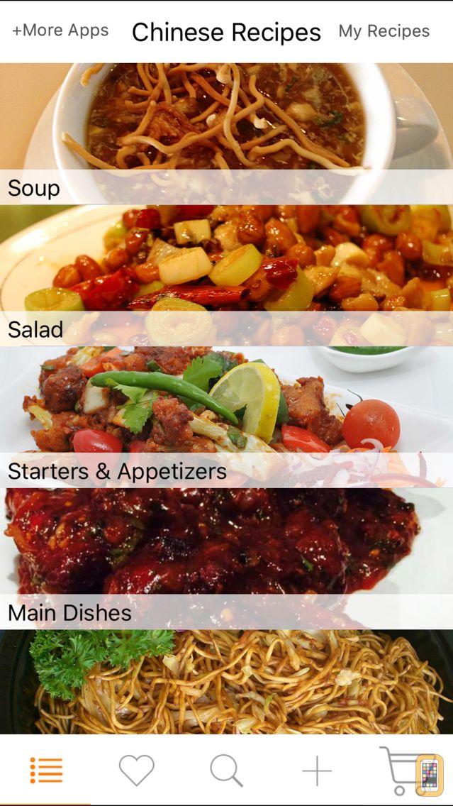 Screenshot - Chinese Recipes - Cookbook of Asian Recipes