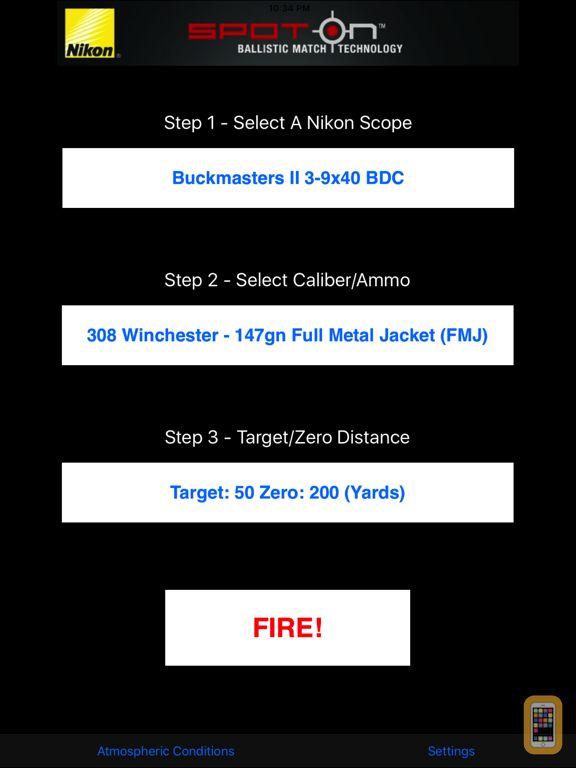 Screenshot - Nikon SpotOn for iPad