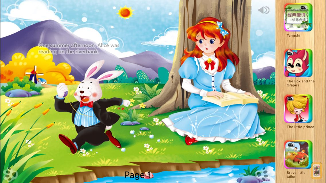 Screenshot - Alice in Wonderland - Bedtime Fairy Tale iBigToy