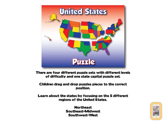 Screenshot - United States Puzzle and Guide