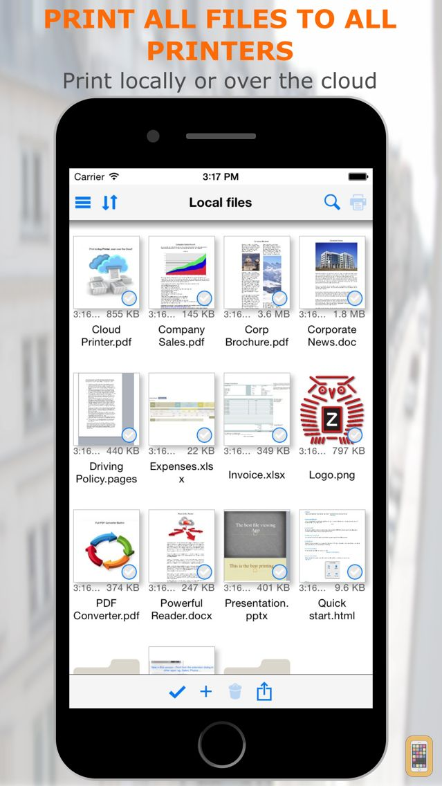 Screenshot - PrintCentral Pro for iPhone