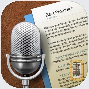 Best Prompter - teleprompter by Serhii Simkovskyi (Universal)