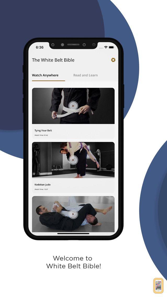 Screenshot - The White Belt Bible: Judo, Aikido and BJJ