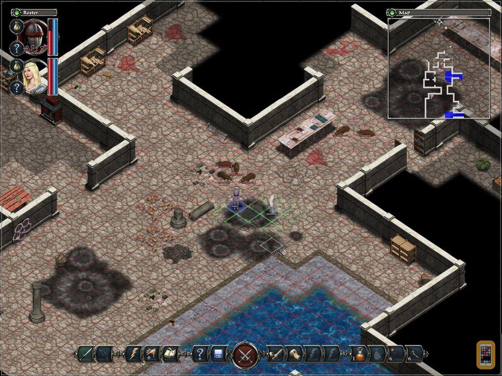 Screenshot - Avadon: The Black Fortress HD