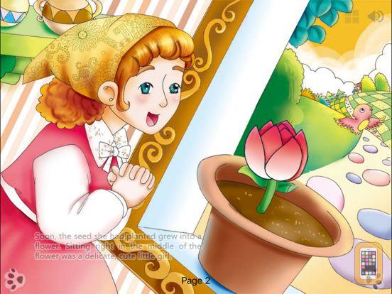 Screenshot - Thumbelina Lite-Interactive Book-iBigToy
