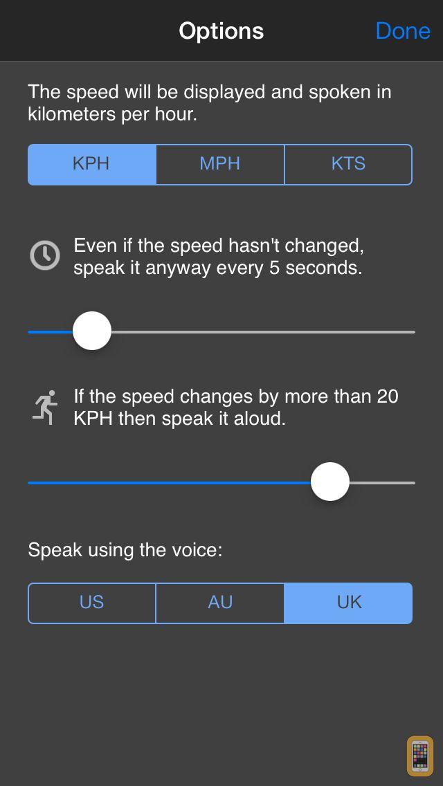Screenshot - Speed Speak - Talking Speedometer