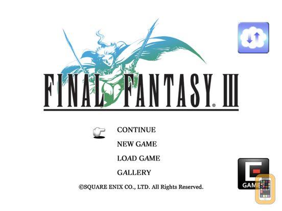 Screenshot - FINAL FANTASY III for iPad