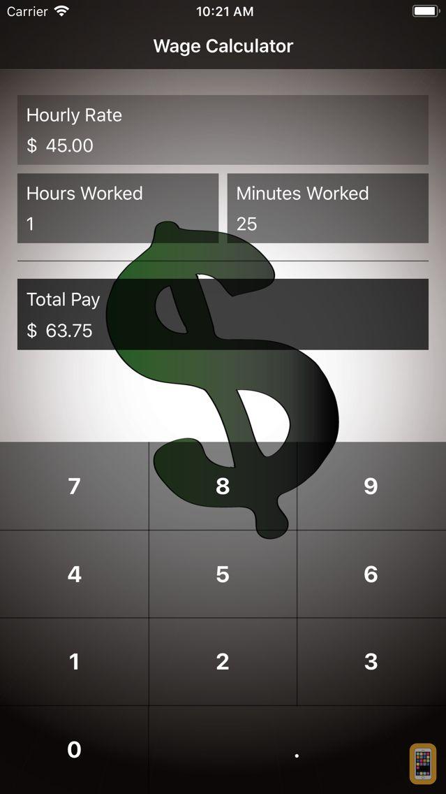 Screenshot - Wage Calculator