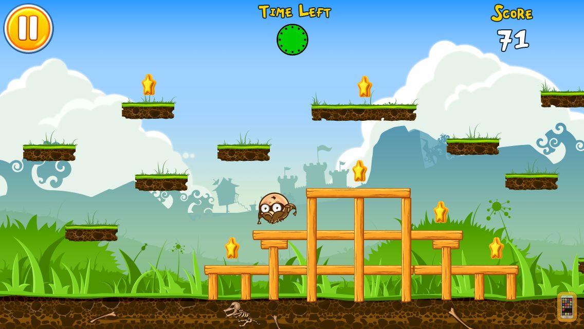Screenshot - Abby Ball's Fantastic Journey : Roll, Run & Jump