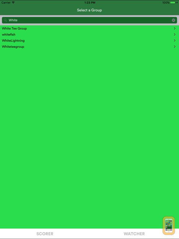 Screenshot - ScoreLynx