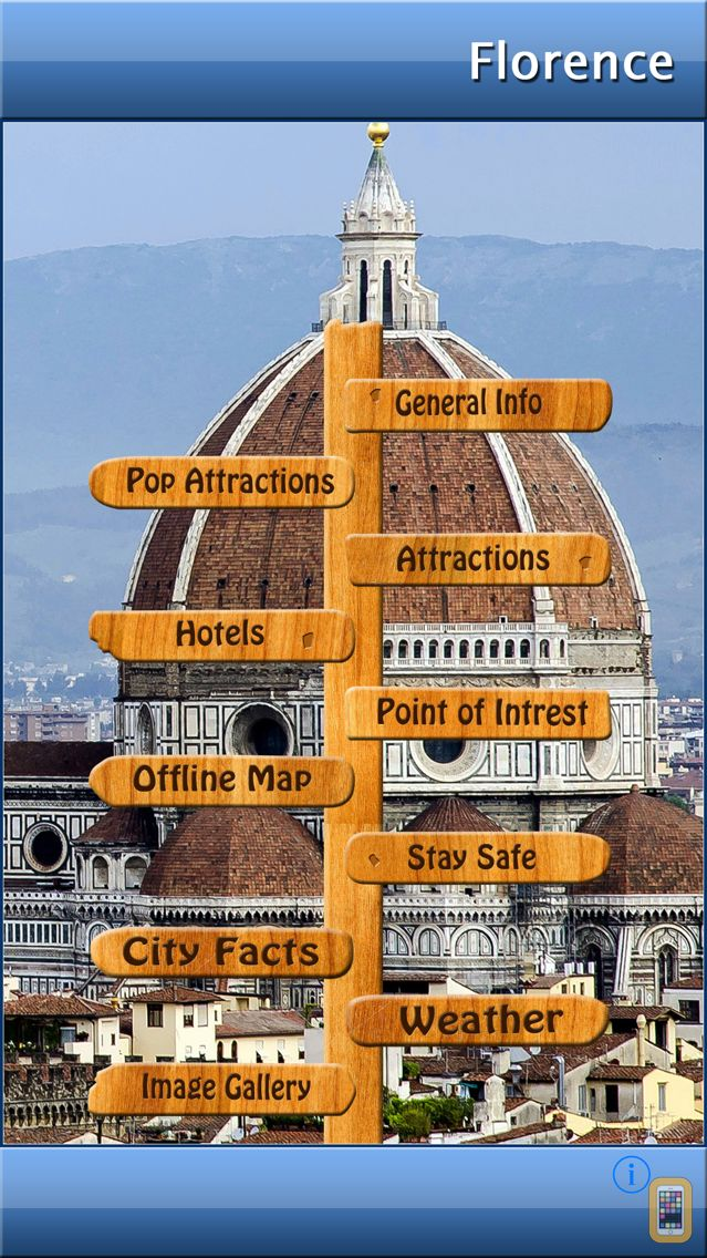 Screenshot - Florence Offline Map Travel