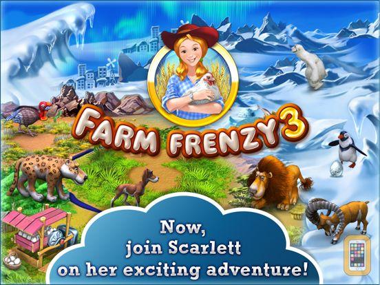 Screenshot - Farm Frenzy 3 HD. Farming game