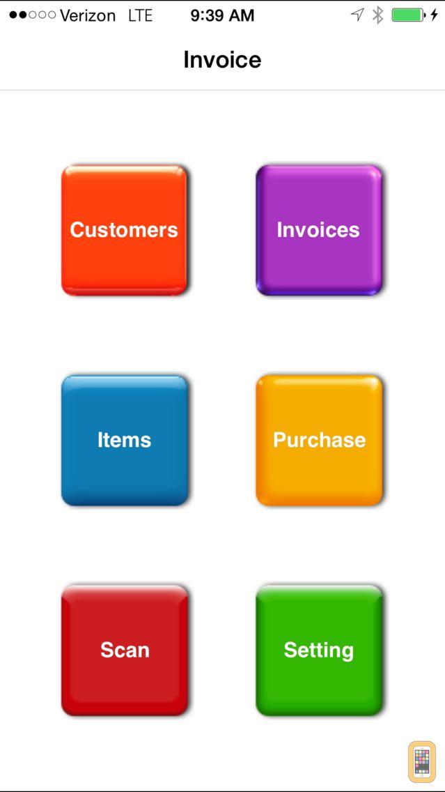 Screenshot - Invoice