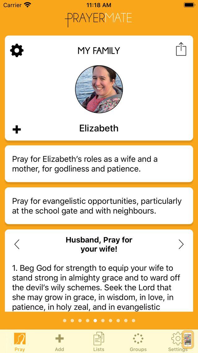 Screenshot - PrayerMate