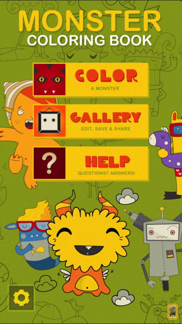 Screenshot - Monster Coloring Book