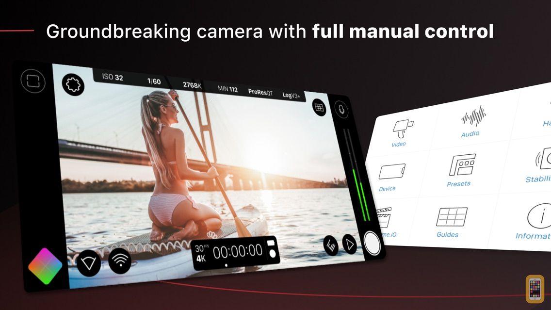 Screenshot - FiLMiC Pro-Video Camera