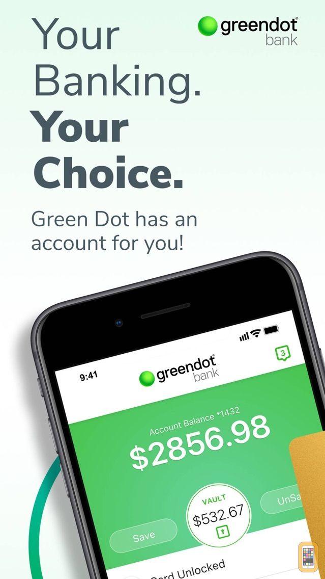 Screenshot - Green Dot - Mobile Banking