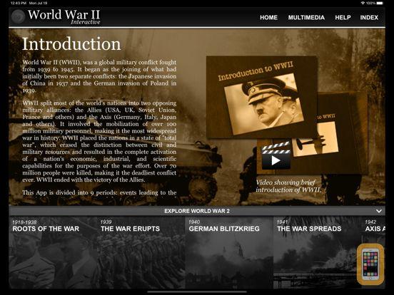 Screenshot - World War 2 History: WW2