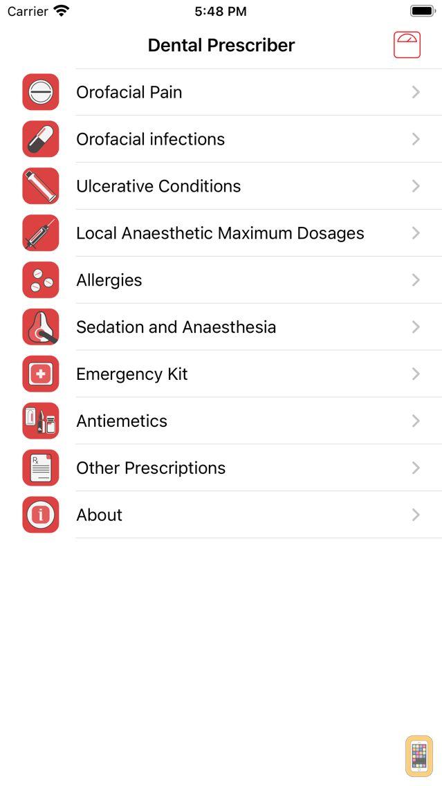 Screenshot - Dental Prescriber