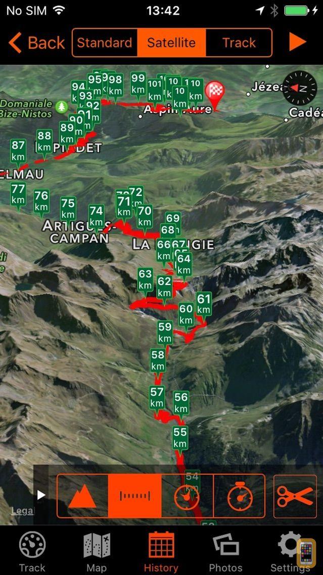 Screenshot - Bike Tracks