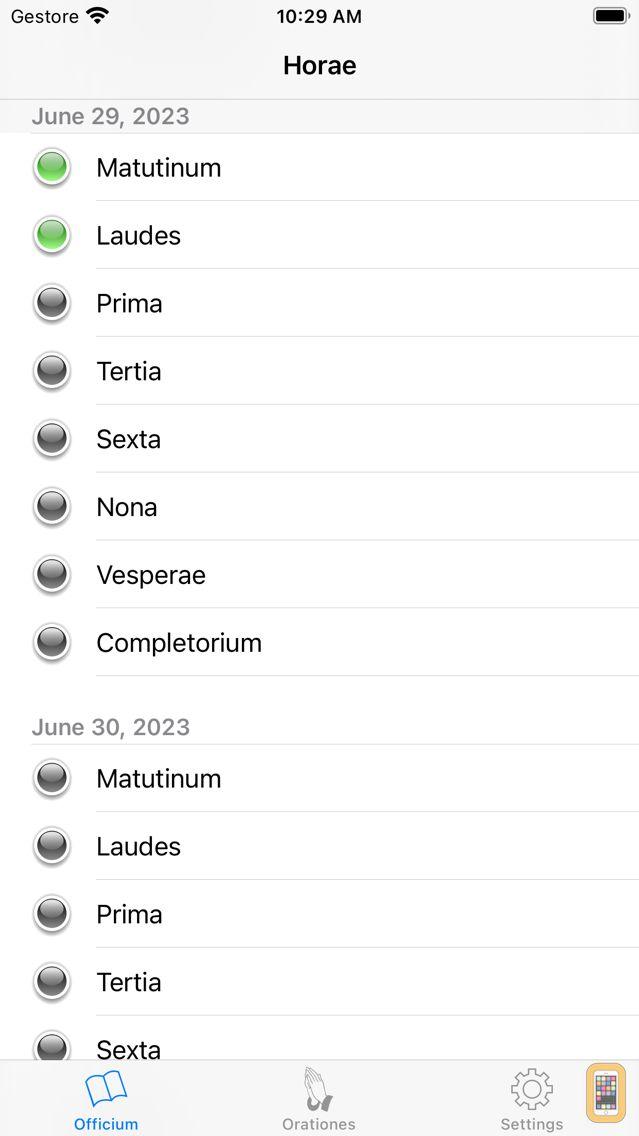 Screenshot - Breviarium Meum