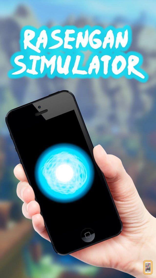 Screenshot - Jutsu Simulator  - Naruto Jutsus Edition - Make Rasengan, Chidori, Rasenshuriken, Mangekyou Sharingan and Katon