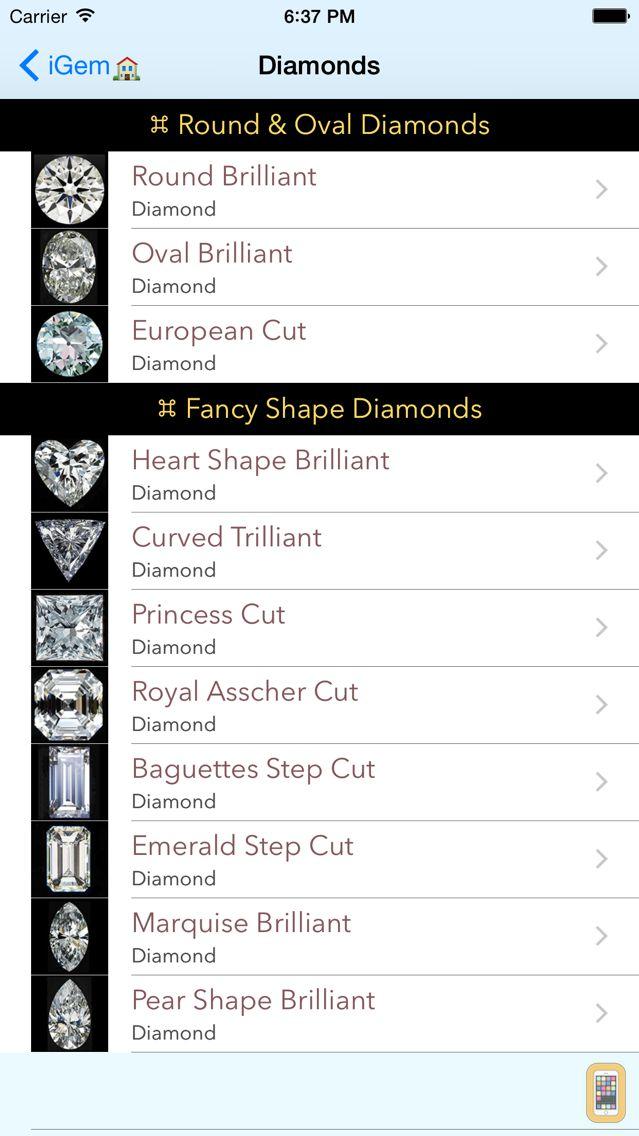 Screenshot - iGemology