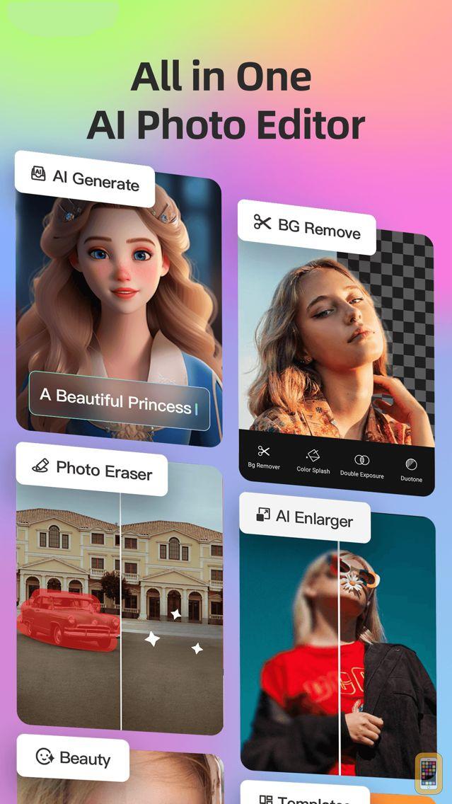 Screenshot - Fotor - Photo Editor & Collage
